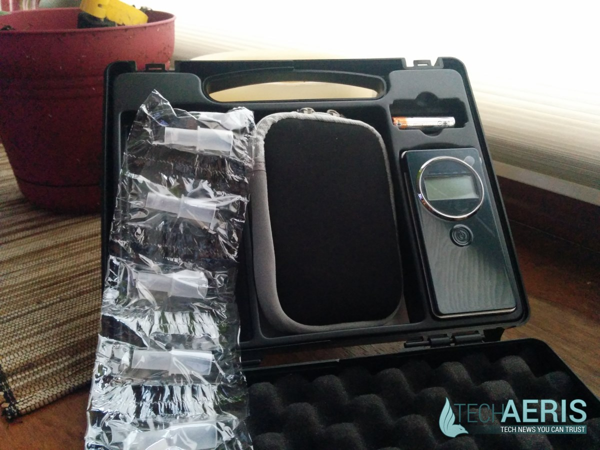 AlcoMate Revo Review Case Inside