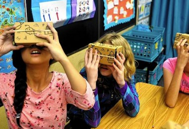 Google Expeditions & Google Cardboard Land In Chicago Area Schools