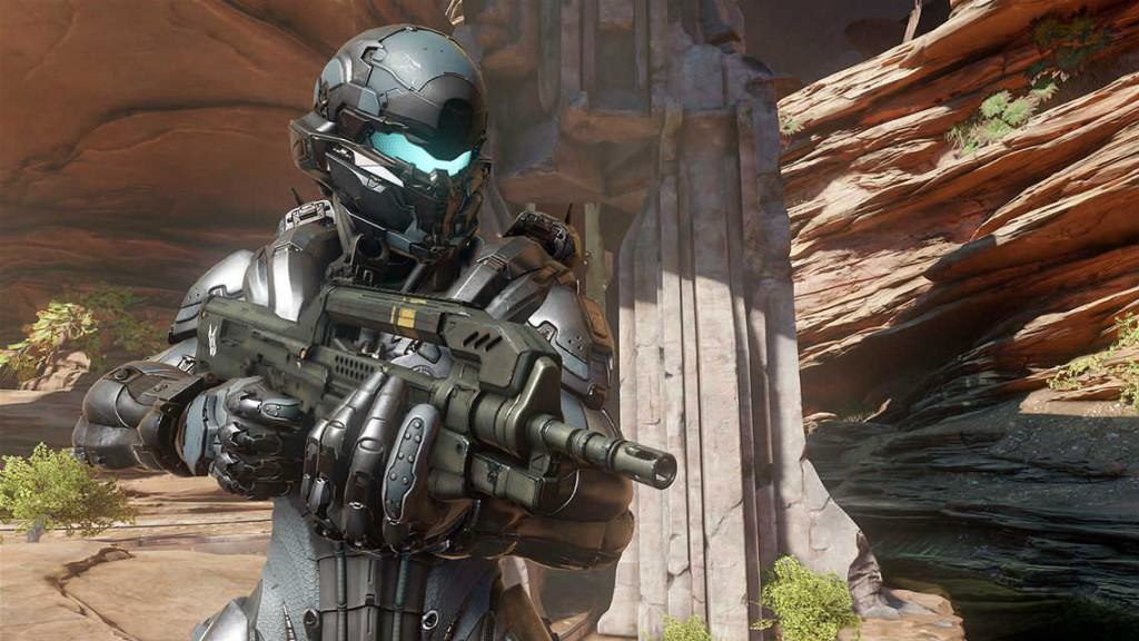 Halo 5 Guardians Spartan Locke