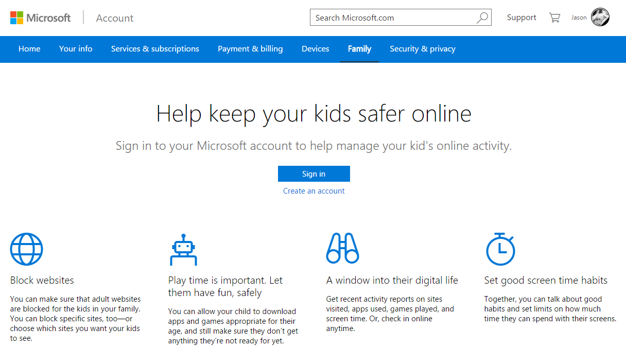 how to add a visitor account on windows 10
