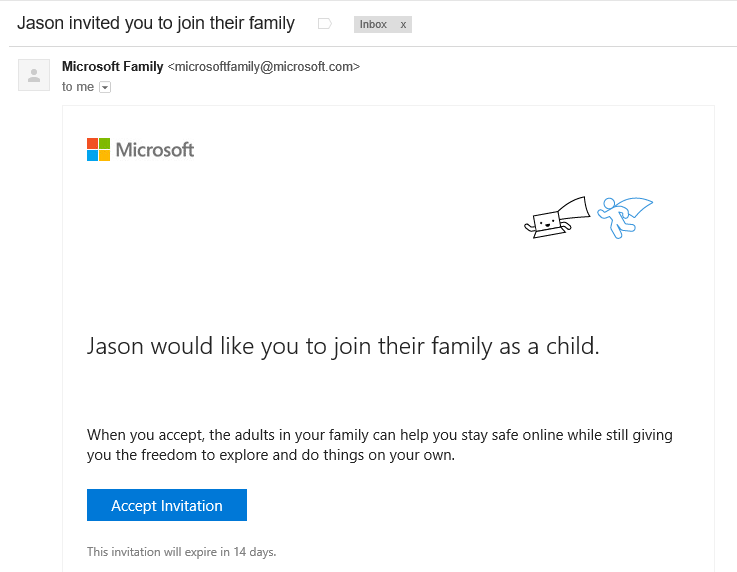 Microsoft-Family-Settings-08-Child-Added-Invite-Email
