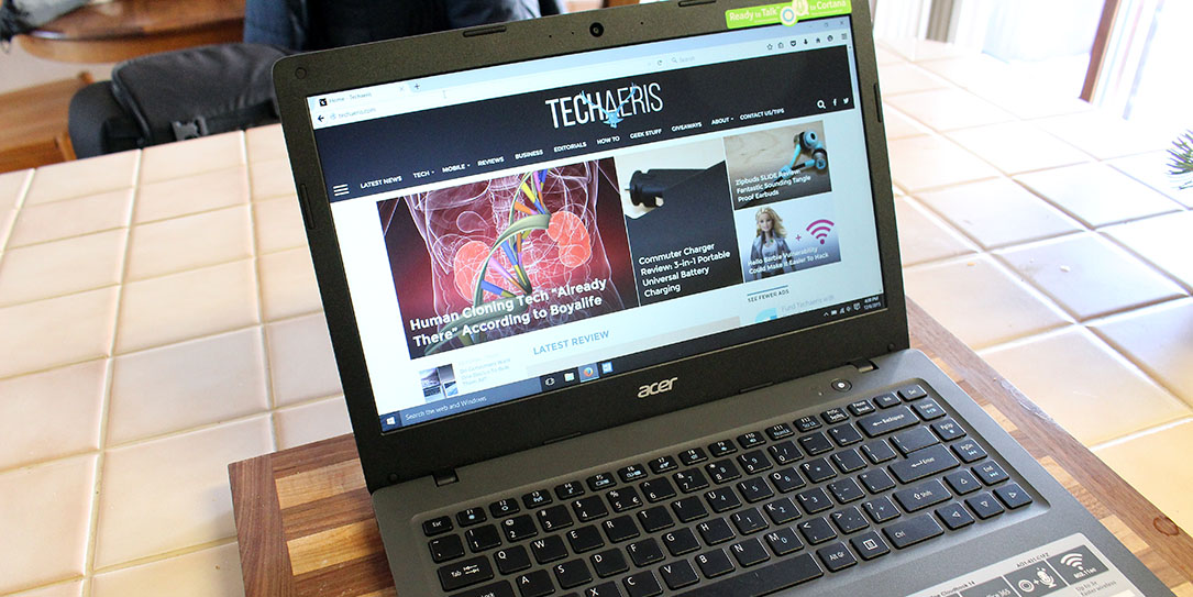 The Acer Cloudbook 14