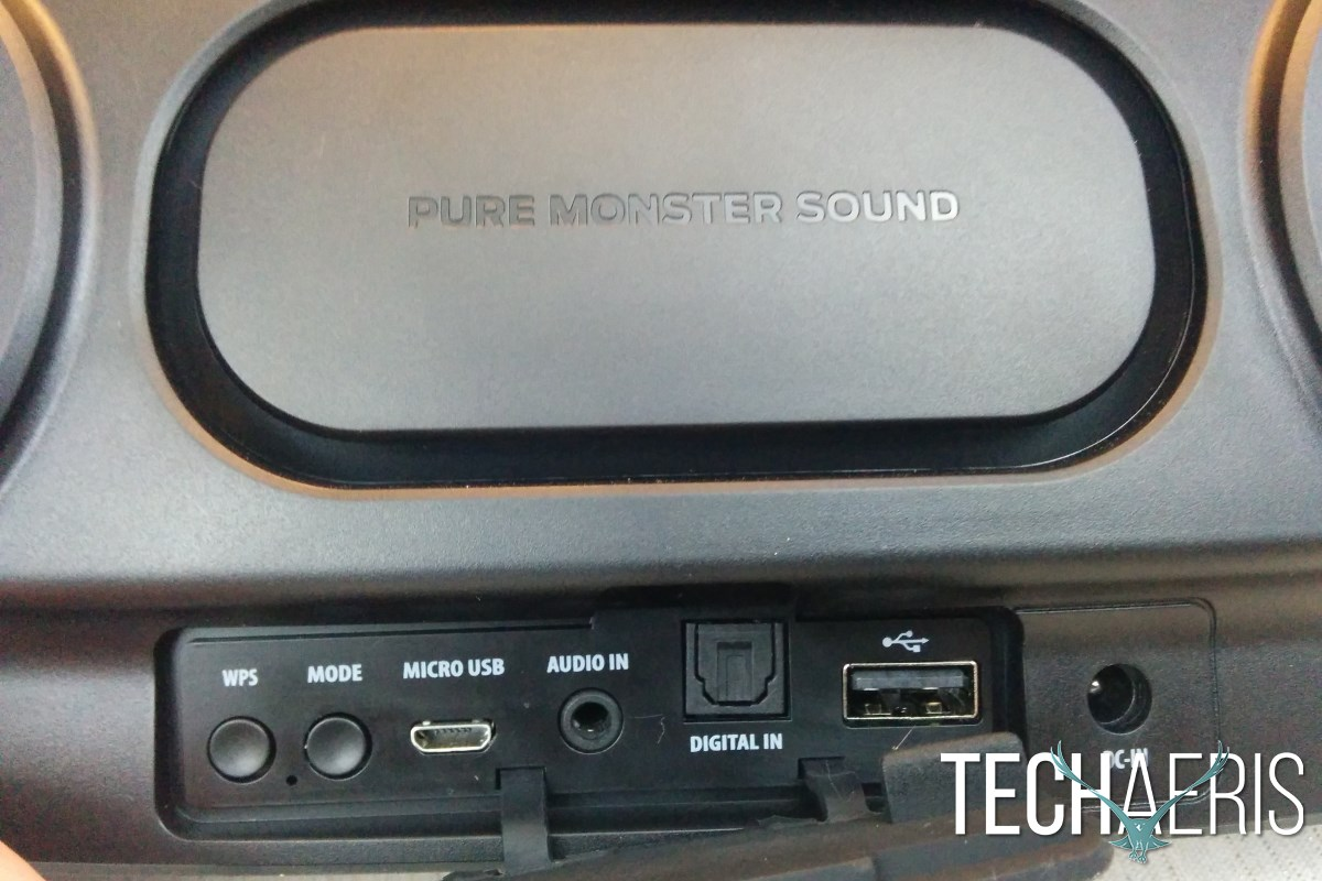 Monster Soundstage S1 Back Panel