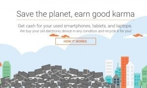 Karma Recycling is helping with cellphones in India./