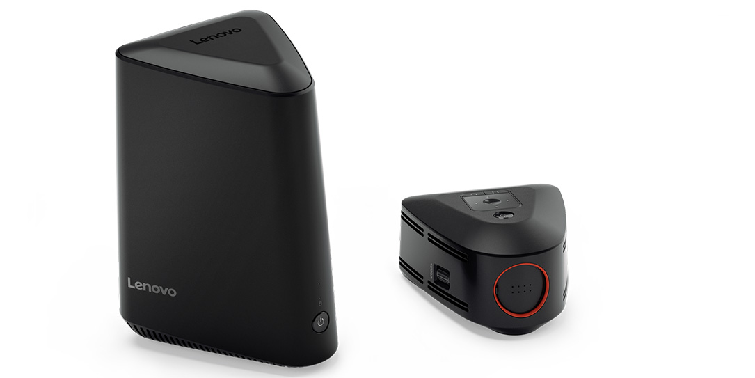 Lenovo-ideacentre-610S-with-projector