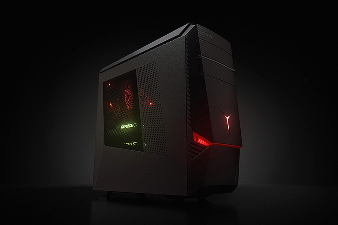 lenovo ideacentre y900 gaming pc review a sports car in a. Black Bedroom Furniture Sets. Home Design Ideas