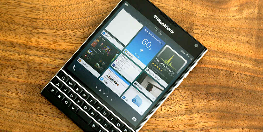 Blackberry Passport with BB10