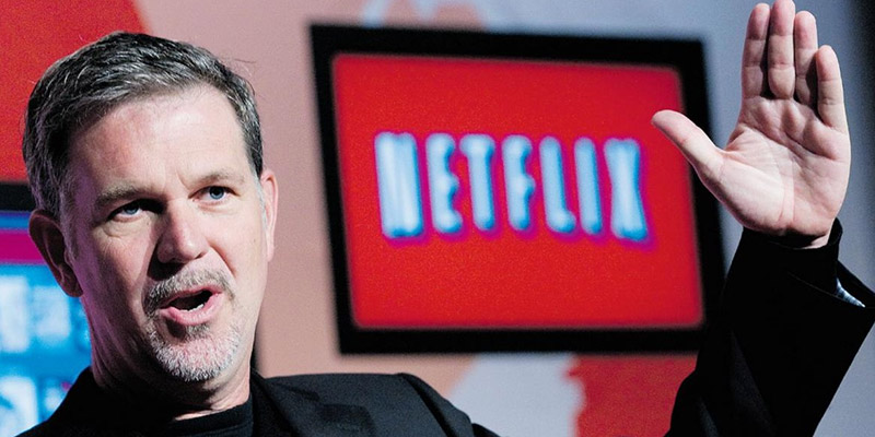 Netflix CEO, Reed Hastings