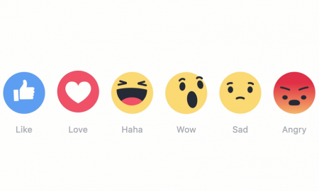 Facebook-Reactions