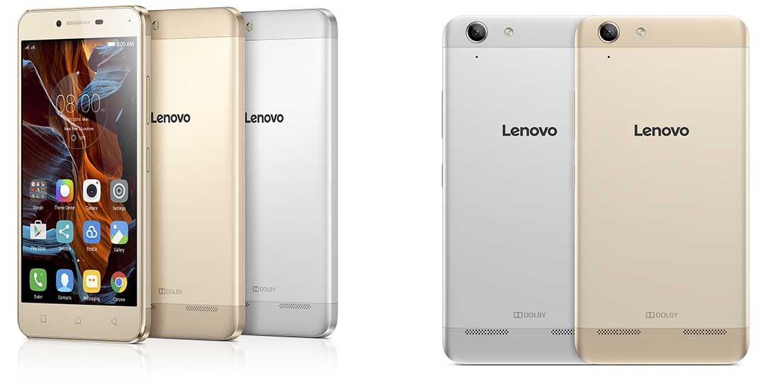 MWC 2016] Lenovo Introduces VIBE K5 And K5 Plus Smartphones