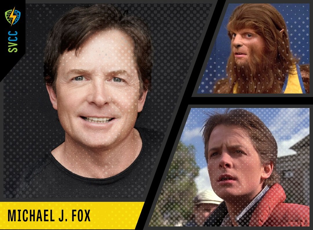 Michael J Fox Back to the Future SVCC