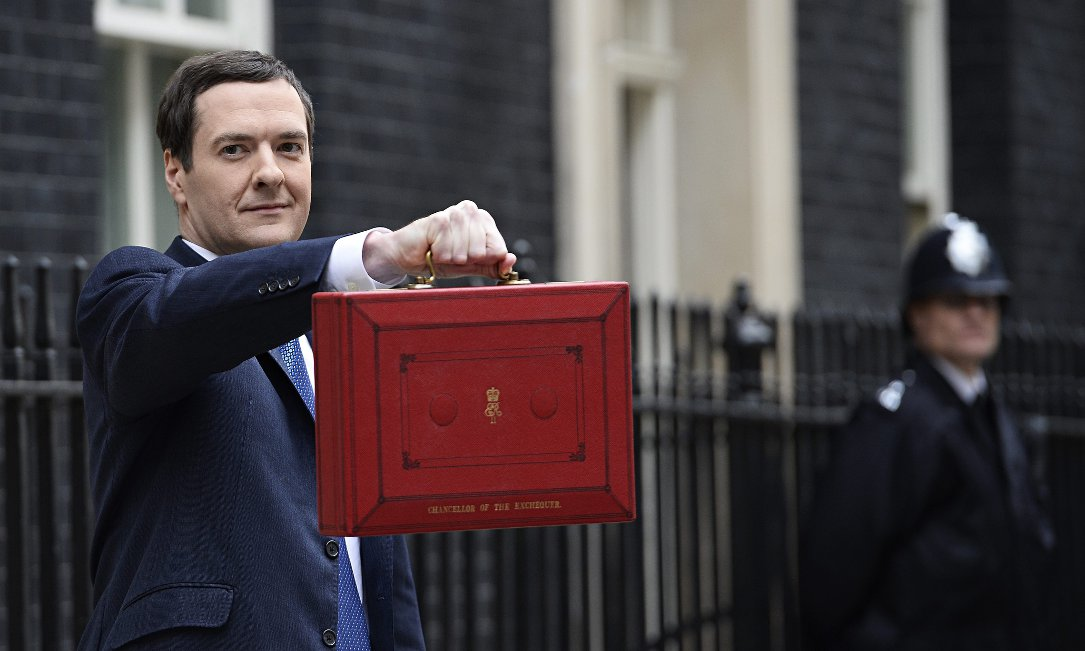 George Osborne the budget