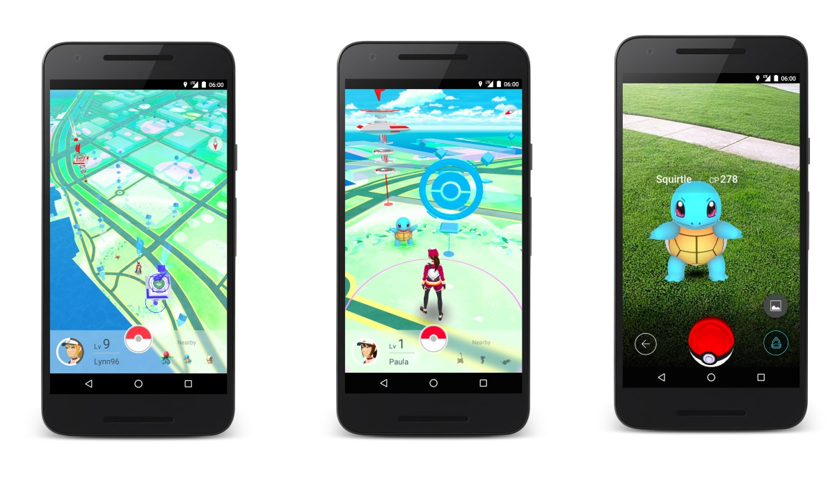 Pokemon Go Screenshots 2
