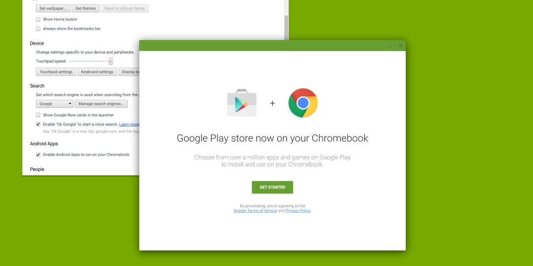 Chromebook Google Play