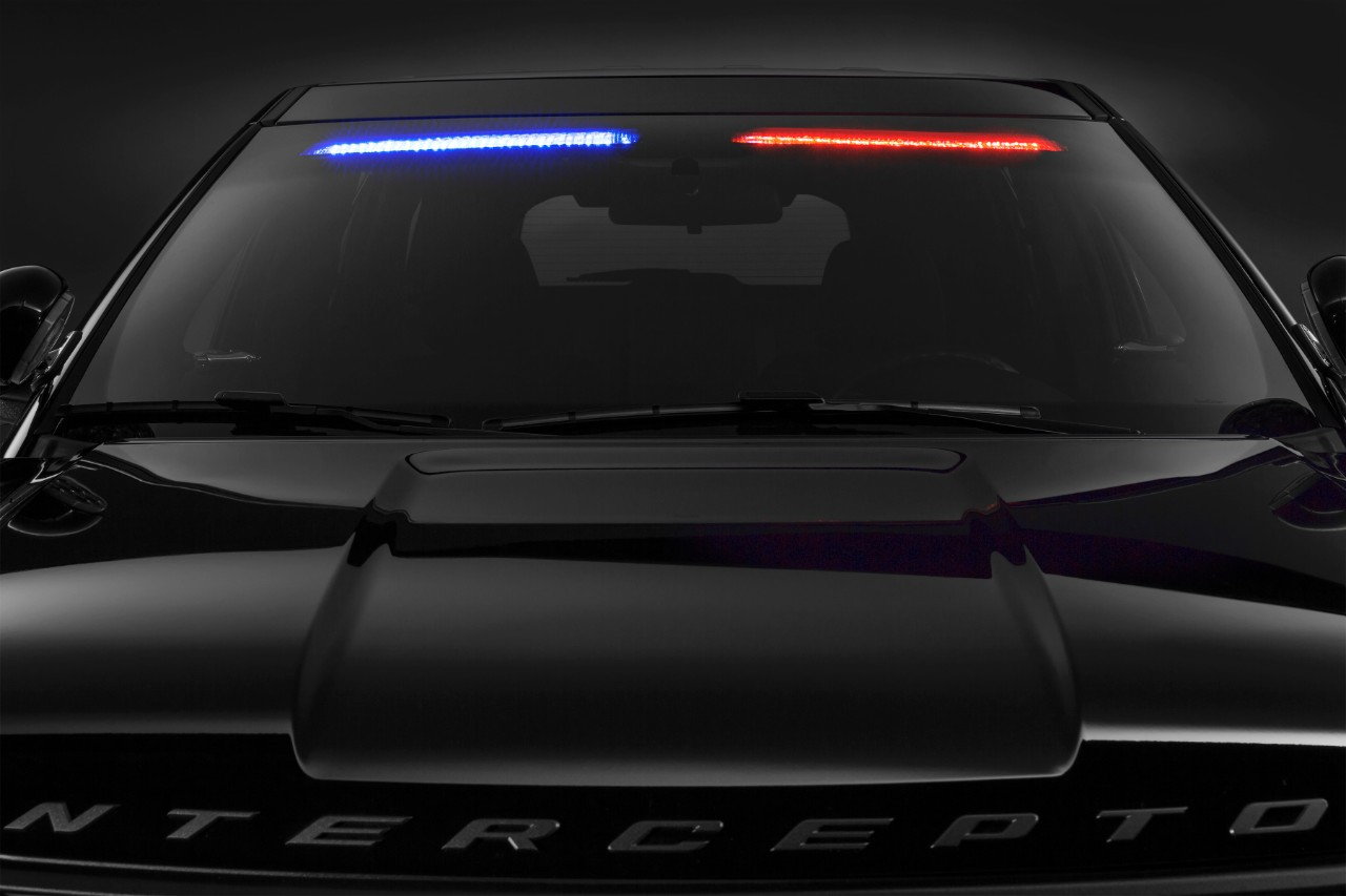 Ford launches no profile light bar for police suv ford police suv 4 mozeypictures Choice Image