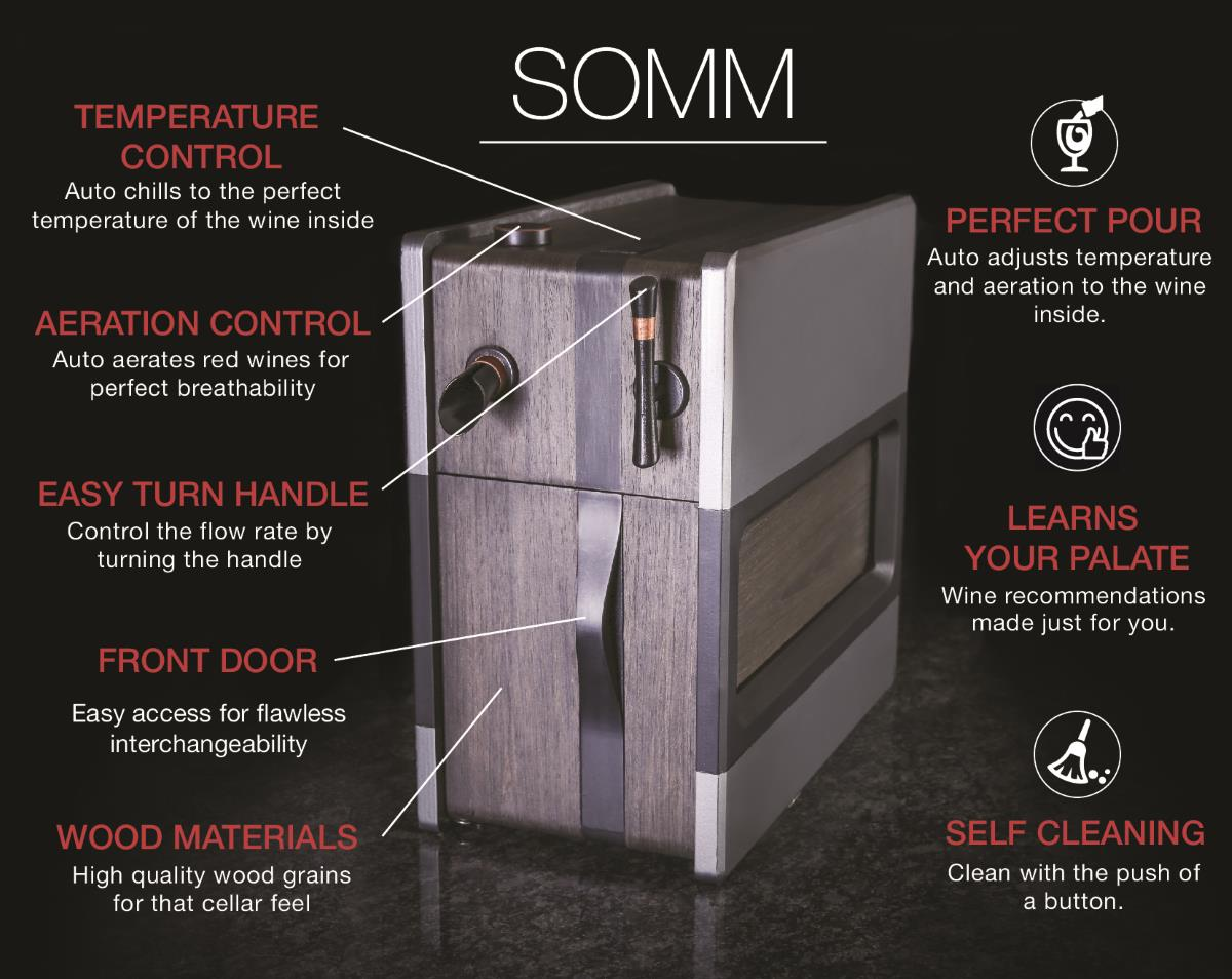 Somm by SYNEK How does it work