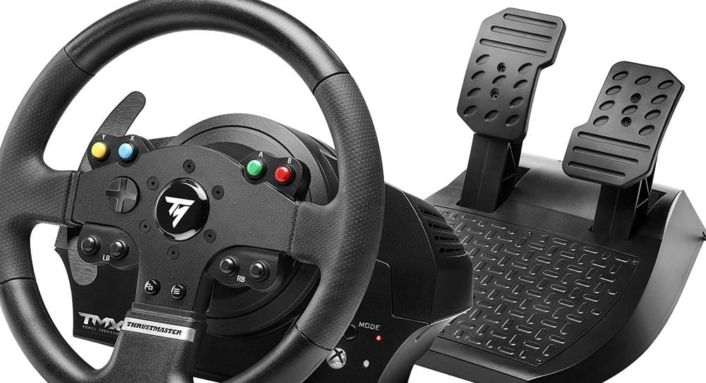 thrustmaster tmx finally an affordable force feedback xbox one racing wheel. Black Bedroom Furniture Sets. Home Design Ideas