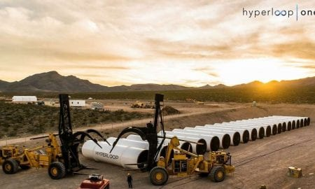 Hyperloop One successful test