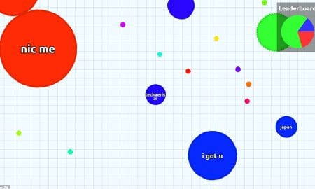 agar.io screen