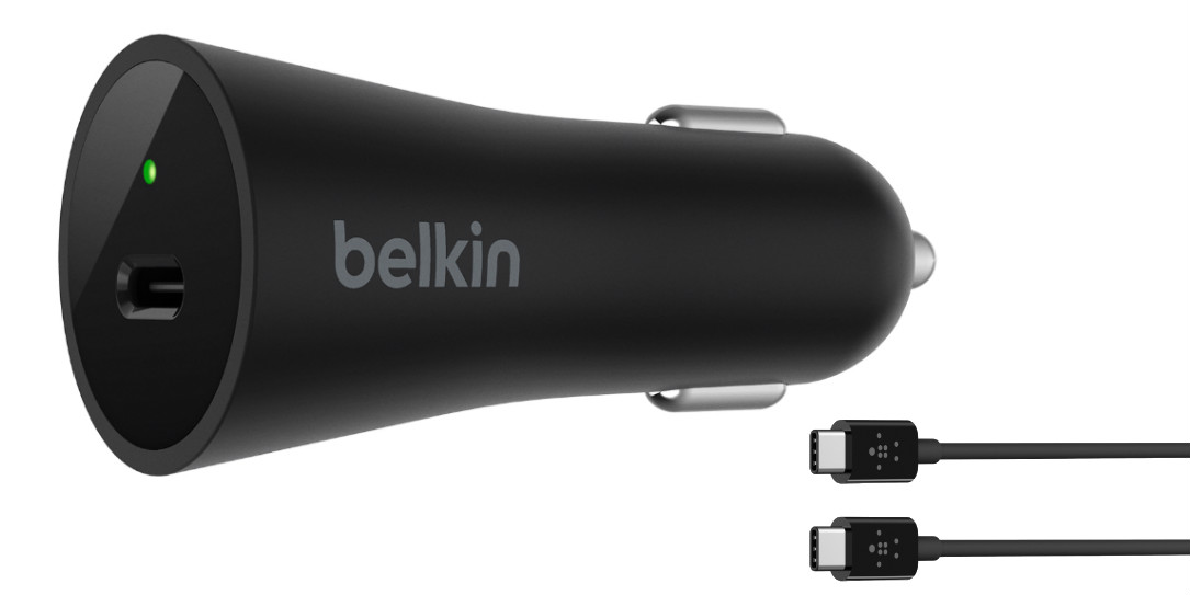 Belkin-USB-C-Car-Charger