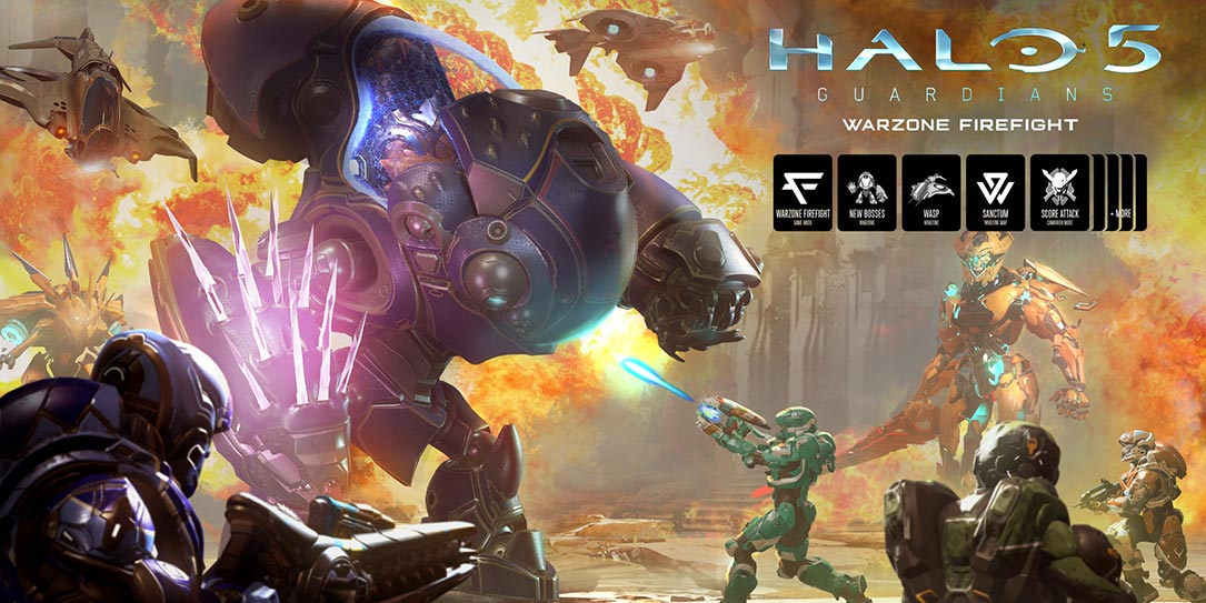 "Play Halo 5 free during ""Warzone Firefight"" launch week - Techaeris"