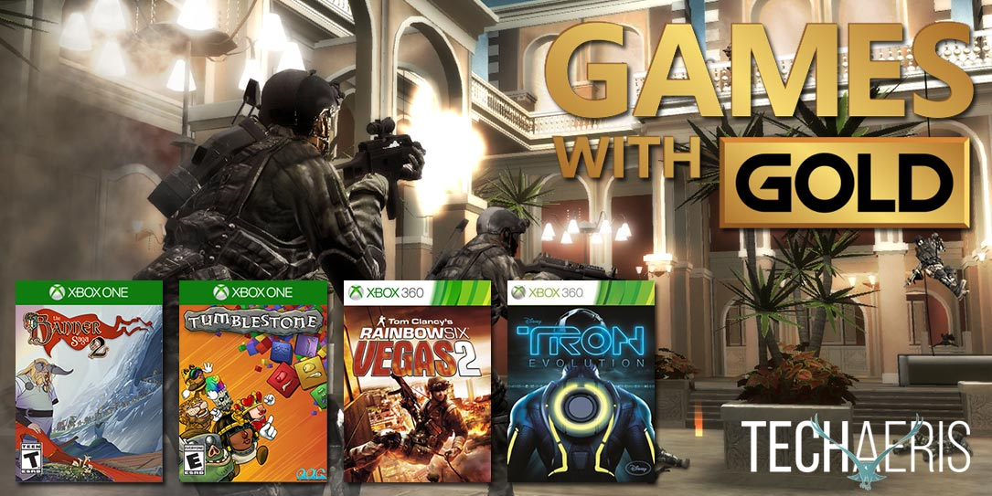 July Games with Gold: Rainbow Six Vegas 2, two new Xbox One