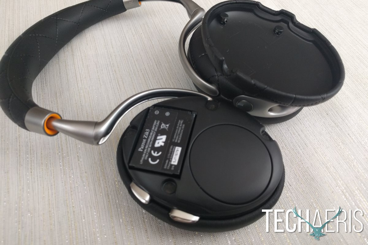 Parrot Zik 3 Removeable Battery