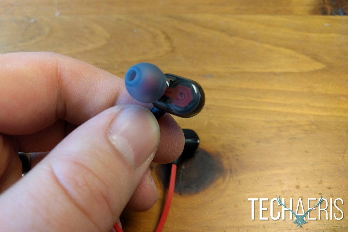 Phiaton MS 300 BA Review Earbud Detail