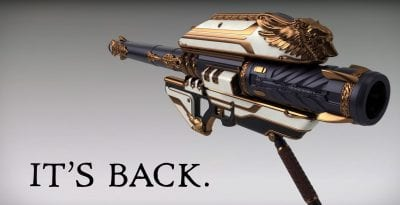 Rise of Iron brings back the coveted Gjallarhorn rocket launcher.