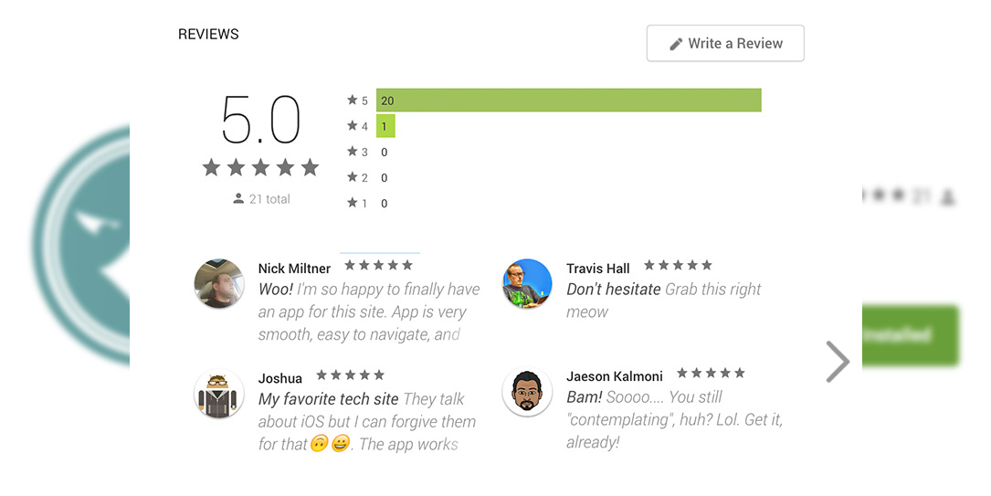 Google Play reviews may no longer require Google+ account