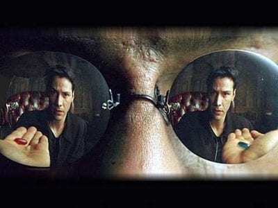 Red Pill or Blue Pill - Matrix