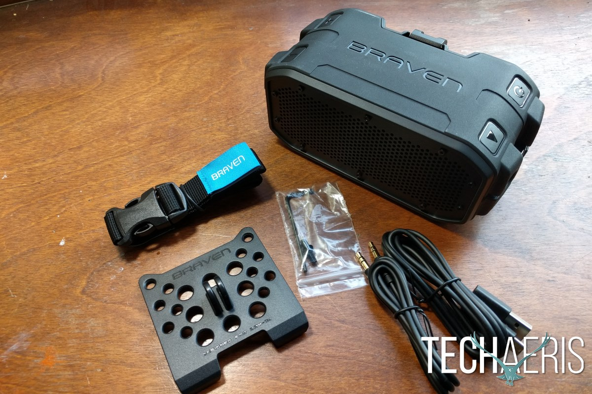 Braven BRV-1M Review Accessories