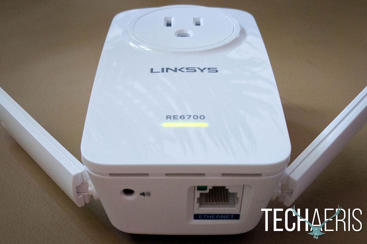 Linksys ac1200 amplify review extend wi fi without - Wireless extender with ethernet ports ...