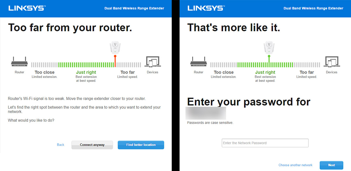 Linksys-range-extender-spot-finder