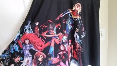 Loot4FanGirls marvel dress close up