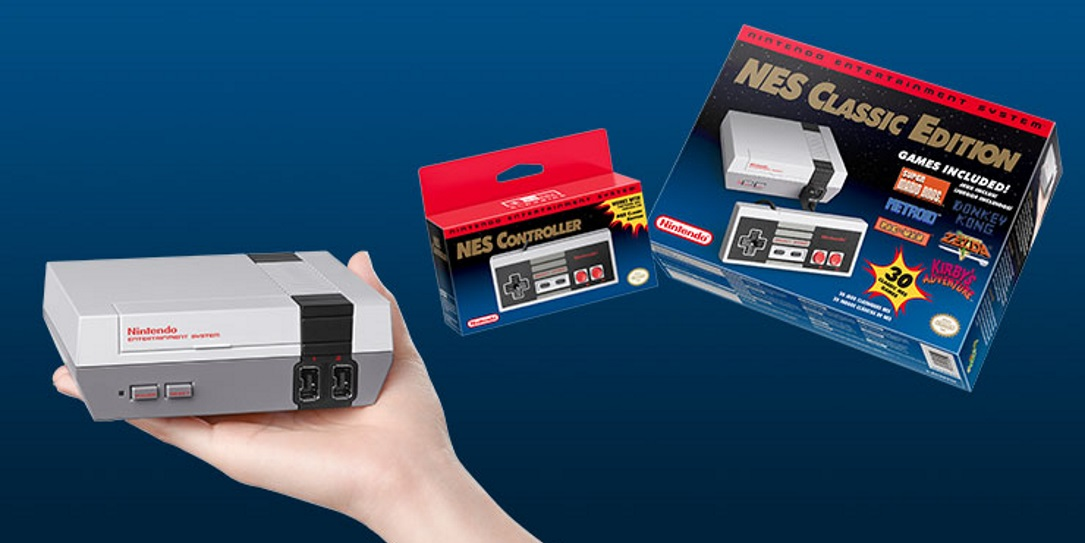 NES Classic Edition small in size, huge in nostalgia