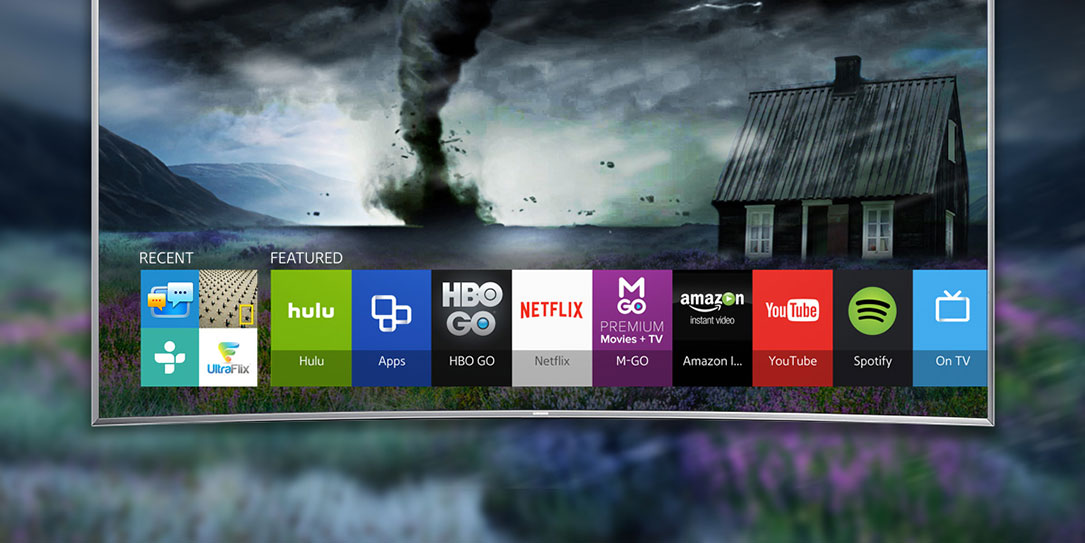 How to download apps on samsung smart tv 2016