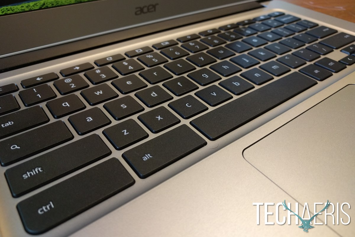 Acer Chromebook 14 Review Keyboard