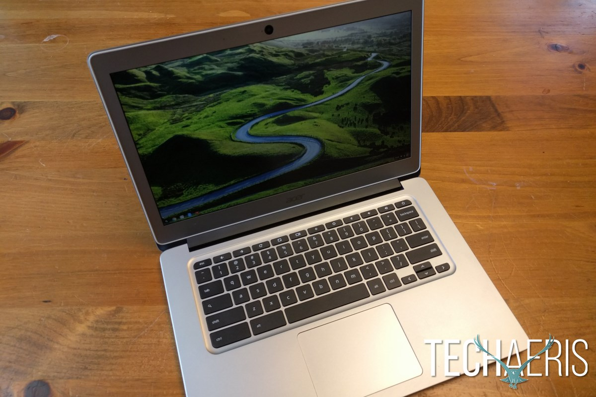 Acer Chromebook 14 Review Open