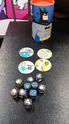 Batman The Animated Series Dice Game Steve Jackson Games Gen Con 2016