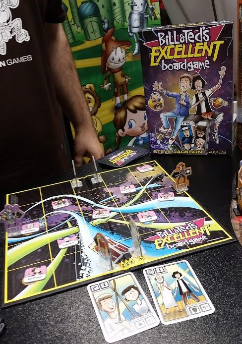 Bill & Ted's Excellent Adventure Steve Jackson Games Gen Con 2016