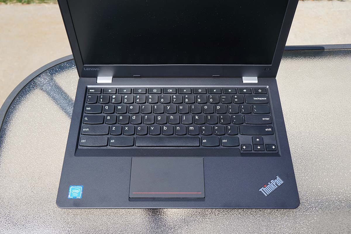 lenovo thinkpad 13 chromebook review plenty of power for a chromebook. Black Bedroom Furniture Sets. Home Design Ideas