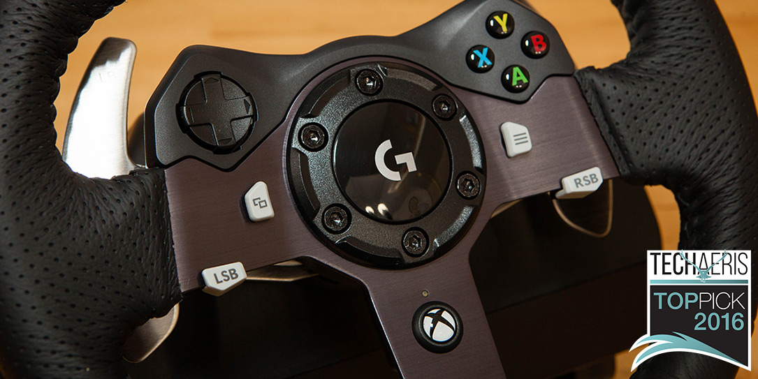Logitech G920 review: An Xbox One/PC racing wheel that's