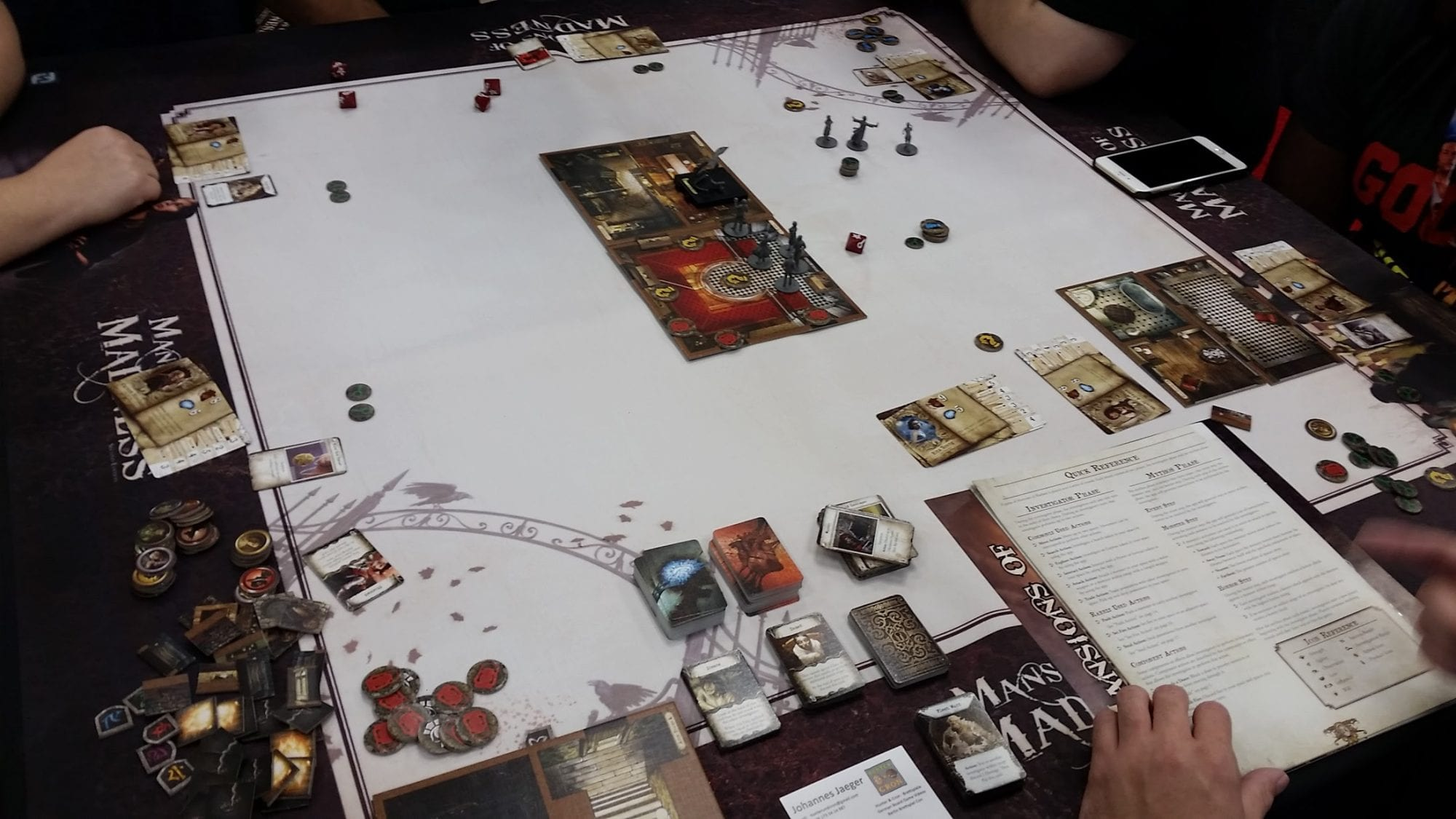 Mansions of Madness board
