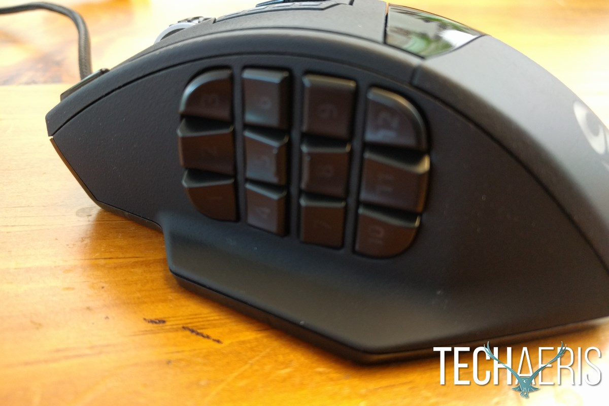 UTechSmart Venus MMO Gaming Mouse Programmable Side Buttons