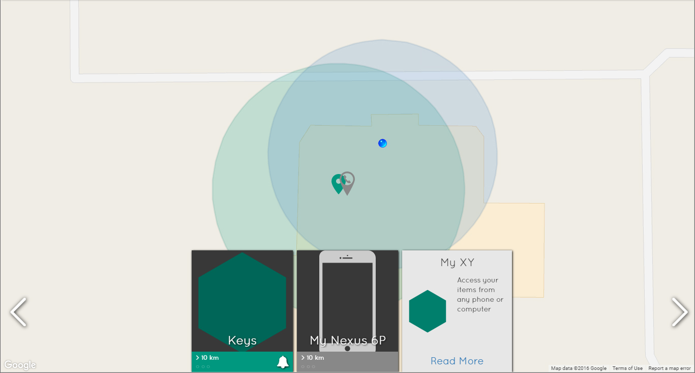Xy3 review an easy to use bluetooth item finder myxy screenshot biocorpaavc Choice Image