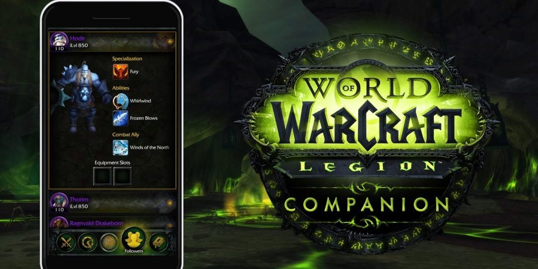 Blizzard launches world of warcraft legion companion app legion companion app world of warcraft gumiabroncs Choice Image