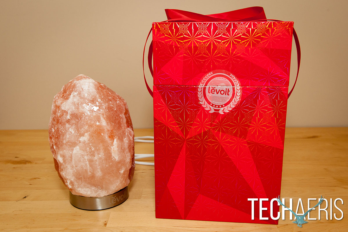 Salt Lamps Reviews : Levoit Himalayan Salt Lamp review: A unique looking home or office lamp