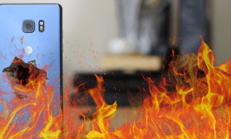Note7 On Fire