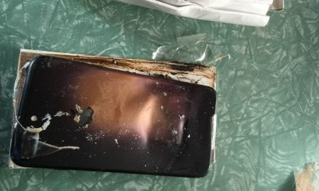 exploding iPhone